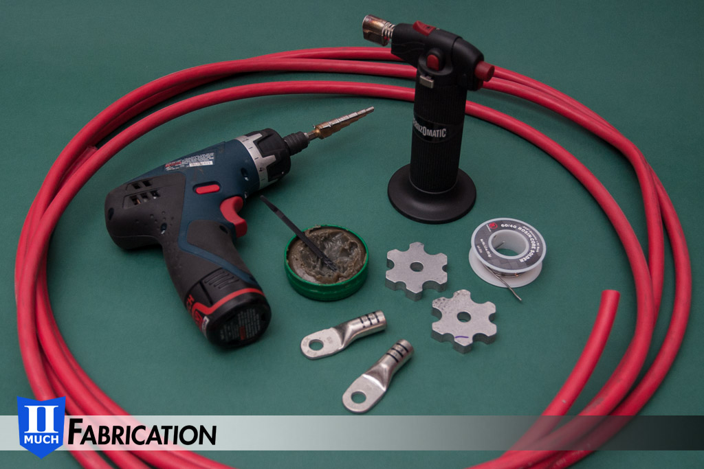 Battery Cable Fabrication : Battery cables ii much fabrication