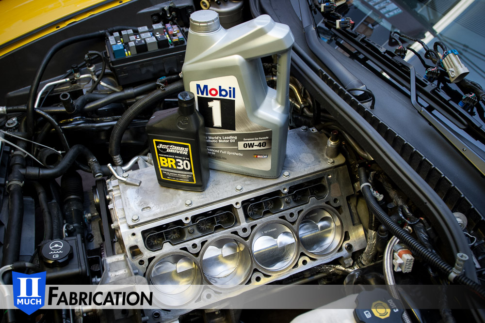 Joe Gibbs Break-In Oil and Mobil1 0W-40 European Formula are ready for the job.